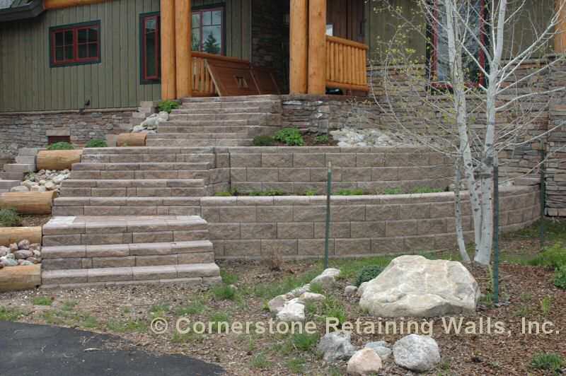 Residential / Landscape Retaining Wall Construction and